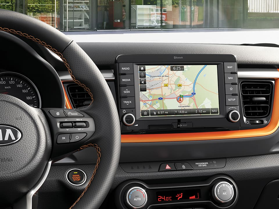 Kia Stonic 7-Zoll-Display